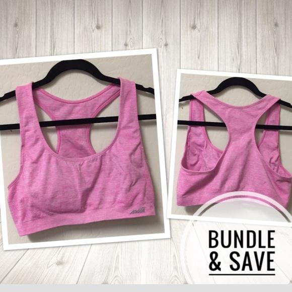 Avia Other - Avia workout bra heather pink Sz Medium